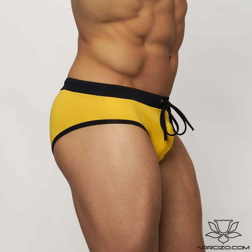 MUSCLE MODEL YELLOW-BLACK DUOCOLOR