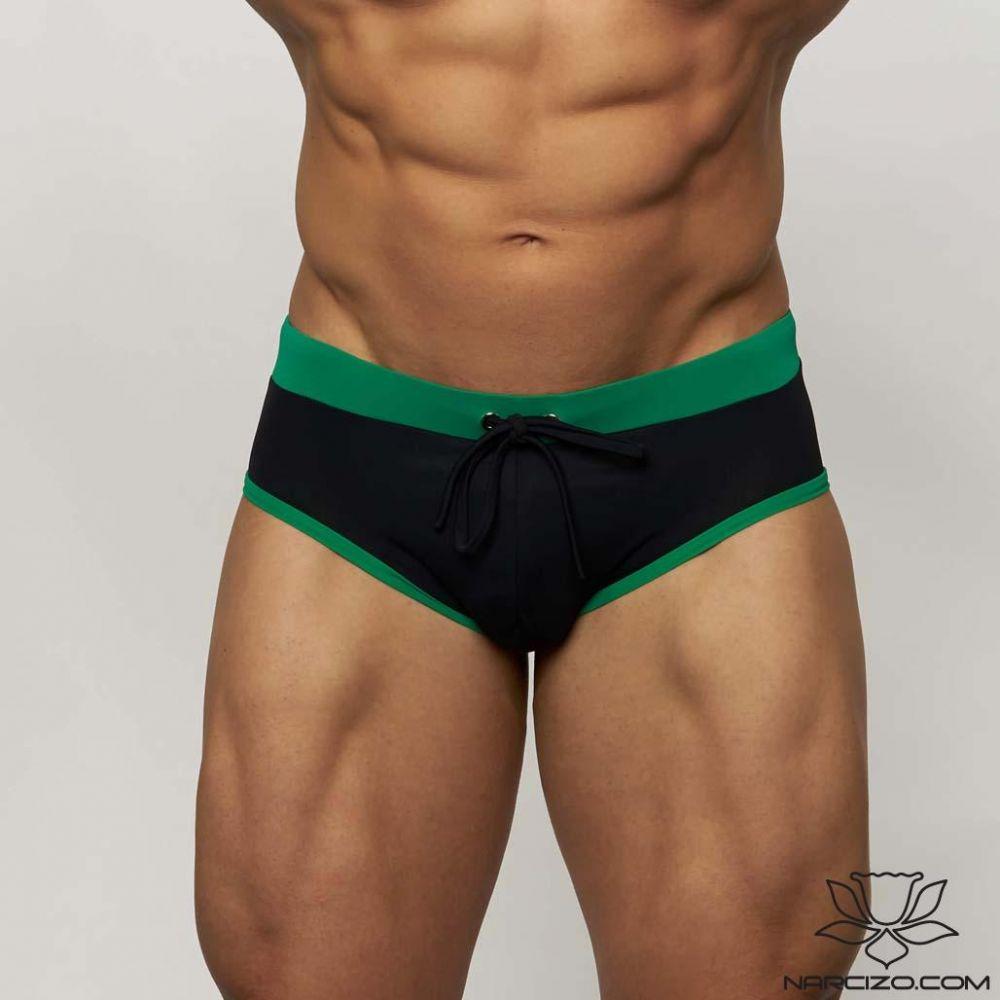 MUSCLE MODEL BLACK-GREEN DUOCOLOR