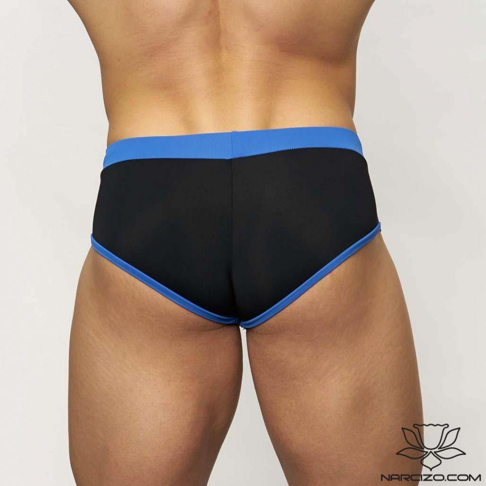 MUSCLE MODEL BLACK-BLUE DUOCOLOR